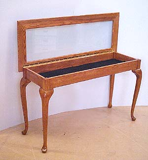 HomeMuseum Collectors Scrapbook - Shadow box sofa table